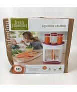 Infantino Fresh Squeezed Squeeze Station Baby Food Maker Storage Feeding... - $34.68