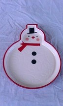 Hallmark Snowman Dish Candy Peanut Decorative - $9.84