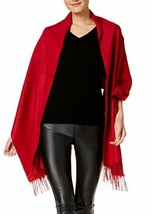 Charter Club Soft Blanket Wrap & Scarf in One Red - $15.83