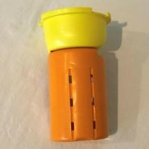Evenflo Exersaucer Triple Fun Replacement Part Upper Leg Piece Yellow Orange  - $4.99
