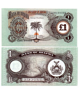 1960'S DEFUNCT COUNTRY OF BIAFRA AFRICA 1LB NOTE~GEM CU~FREE SHIPPING - €2,73 EUR