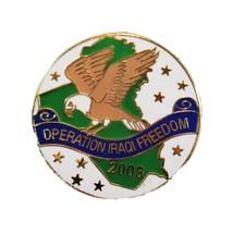 Operation Iraqi Freedom Patriotic Lapel Pin - $6.95