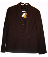 The Limited Stretch Dark Brown Fully Lined Suit... - $44.99