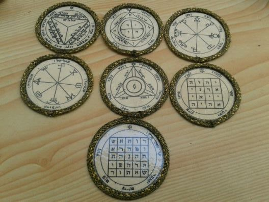 Offer 7 Planetary Seals Pentacles of and 36 similar items
