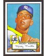 MICKEY MANTLE Rookie Card RP #311 Yankees RC 1952 T 1 Free Shipping - $3.00