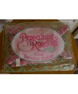 NOS Vintage 1993 Avon Peppermint Rose Doll Stuffed Hair Barrette Holder ... - $29.95