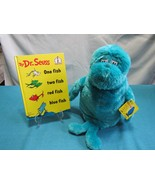 Dr. Seuss One Fish Two Fish Hardback Book & Plush Toy Kohl's Cares for Kids - $18.86
