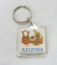Arizona state souvenir key chain collectible travel memorabilia - $6.92