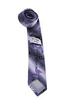 Berlioni Italy Men's Classic Paisley Striped Necktie Tie Handkerchief Gift Set image 13