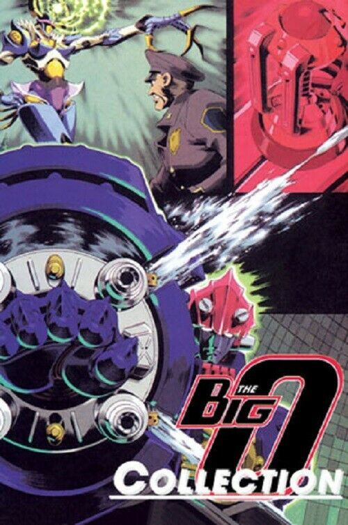 Big O I + II Complete 1-26 Collection DVD English Dubb USA 1+2 Ship from USA