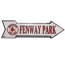 Boston Red Sox Fenway Park MLB Arrow Street Aluminum Wall Man Cave Sign ... - $9.95