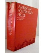 American Prose and Poetry 1970 Foerster, Grabo, Nye, Carlisle, Falk - $30.00