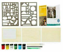 Art Making with MoMA Storytelling Art Kit Stencils Paint Brushes Jacob Lawrence image 4