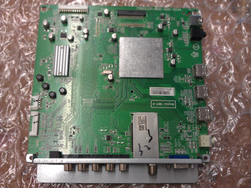 CBPFTXCCB0ZK008 Main Board From Insignia NS-32E320A13 LCD TV