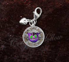 Sterling Silver Charm Choose Alice Wonderland Lewis Carroll Choose Quote image 8
