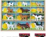 Canine Companions Toy 12-Piece Play Set + FREE Melissa & Doug Scratch Art Min...