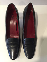 BCBG Paris Women's Black Pumps 2 Inch Heels Shoes Size 7 1/2 B 38 - $17.99