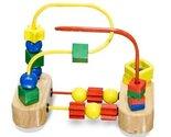Wooden First Bead Maze Classic Toy + FREE Melissa & Doug Scratch Art Mini-Pad...