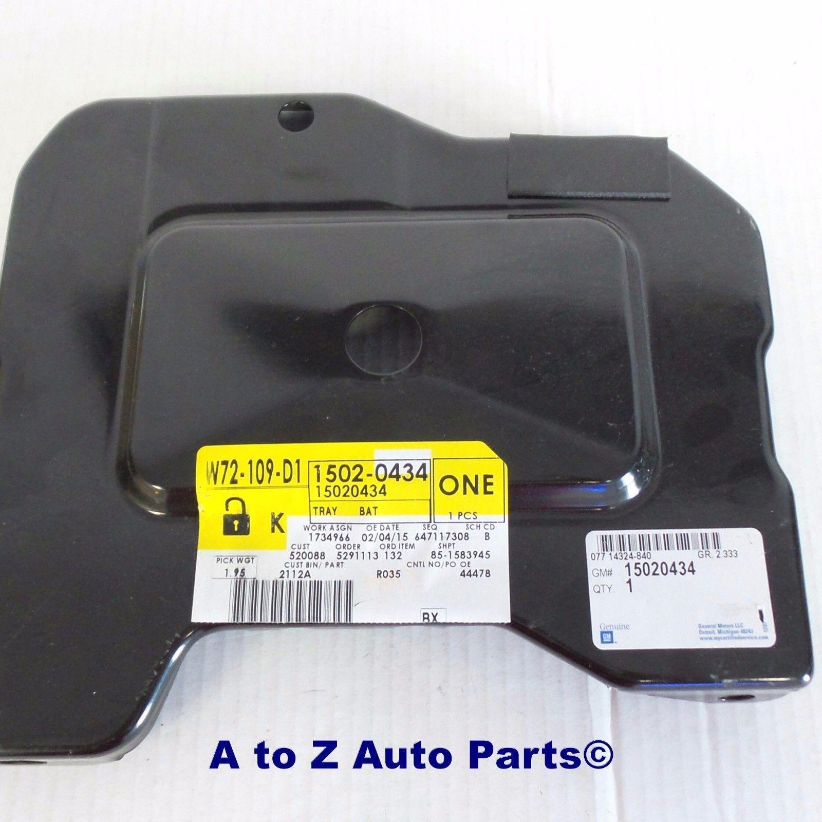 Battery Tray,OEM GM GMC Sonoma Jimmy NEW 1994-2005 Chevrolet S10,Blazer