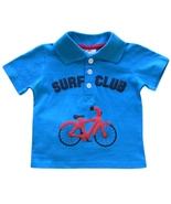 Baby Boys 12 Mos. Blue Surf Club Polo Top - $5.99