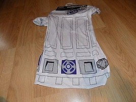 Size Small Disney Star Wars Droid R2D2 Pet Dog Halloween Costume Shirt & Hat New - $15.00