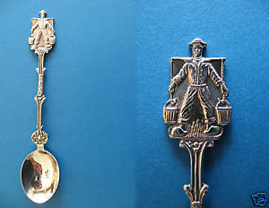 Primary image for DUTCH BOY Souvenir Collector Spoon 90 Collectible WATER CARRIER