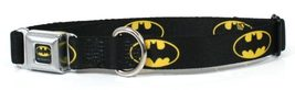Batman Shield Black/Yellow - Dog/Cat Collar - $48.95