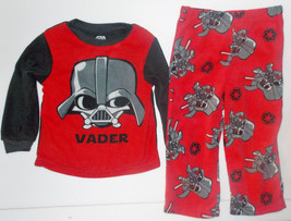 Star Wars Toddler Boys Darth Vader 2 Piece Pajamas Size 18 Months NWT - $11.04