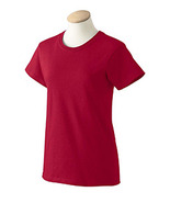 NWOT Cardinal Red 3XL  Style 2000L Gildan Women ultra cotton T-shirt  Rojo - $8.76