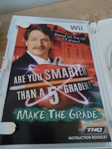 Nintendo Wii Are You Smarter Than A 5th Grader? Make The Grade ~ COMPLETE image 2