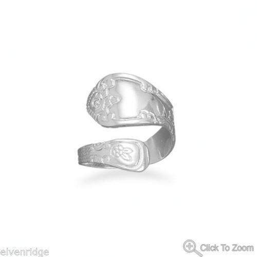 High Polish Spoon Ring Sterling Silver