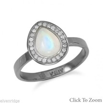 Midnight Collection Halo Ring With Gray Diamonds Sterling Silver