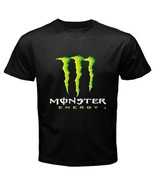 Monster Energy Custom Black Clothing T-shirt New size S to 3XL - $19.99