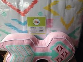 Circo Tribal Hearts Girl 7 Pc Full Sheets Comforter Sham Pink Yellow + Pillow - $62.99