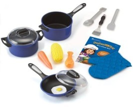 Children Chef Set Toddler Kids Learning Cooking... - $30.99
