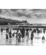 Long Beach Pier 1905 Vintage 8x10 Reprint Of Ol... - $20.20