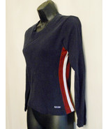 Grunge B.U.M. Equipment Shirt size Medium Knit Top with Side Stripes ✿ 9... - $19.75