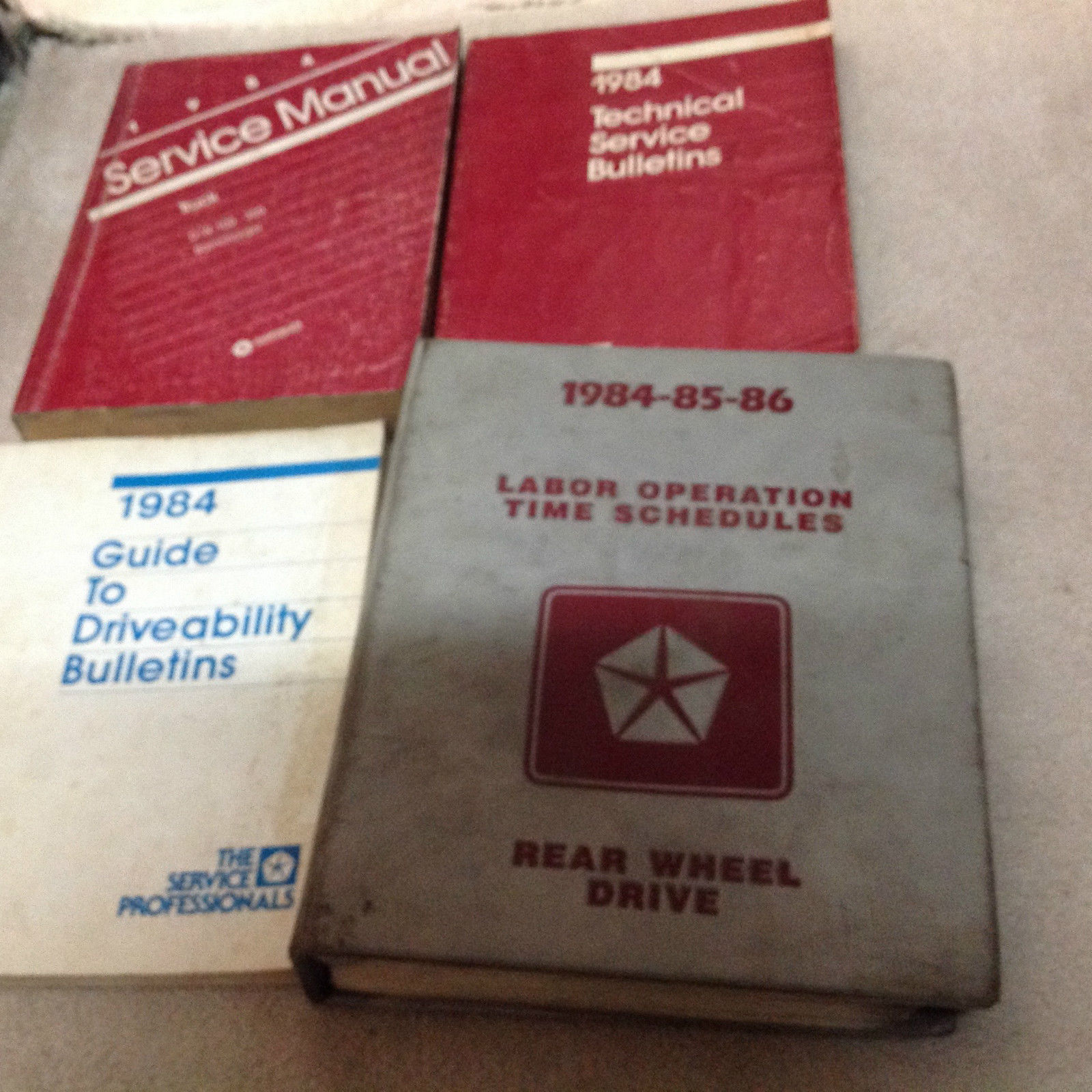 1984 Dodge Ramcharger DW 150 250 350 Service Shop Repair Manual SET W TSB + OEM