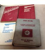 1984 Dodge Ramcharger DW 150 250 350 Service Shop Repair Manual SET W TS... - $176.20