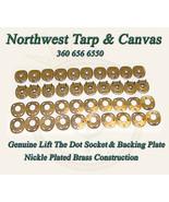 Lift The Dot Fasteners, Socket & Backing Plate, 20 Pc. Marine Grade - $24.00