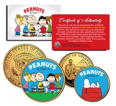 PEANUTS Charlie Brown SNOOPY DC Quarter & JFK Half Dollar US 2-Coin Set ... - $12.95