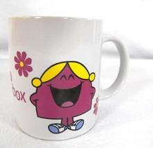 2009 THOIP Little Miss Chatterbox Coffee Mug Cup Sherwood Mr. Men - $14.95