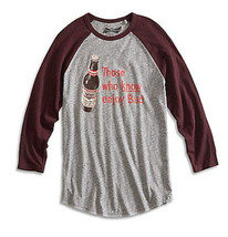 NWT Budweiser Those Who Know Enjoy Bud Beer Adult Medium T-shirt by Luck... - $19.80