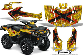 Can Am Outlander 500 650 800 1000 2013 2016 Graphics Kit Creatorx Tribalx Ry - $267.25