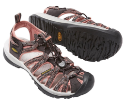 Keen Whisper Size 7 M (B) EU 37.5 Women's Sport Sandals Shoes Raven / Ro... - $58.75