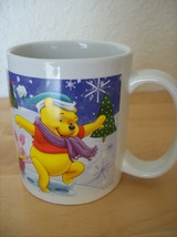 Disney Winnie the Pooh and Friends Snowprints Coffee Mug - $16.00