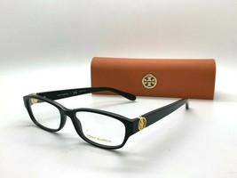 NEW Tory Burch TY 2055 1312 black 53-16-135MM Eyeglasses Frame CASE/CLOTH - $77.16