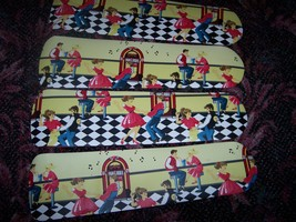 CUSTOM~ 50's FIFTIES JUKEBOX DINER CARS SOCK HOP JITTERBUG SODA SHOP CEI... - $99.99