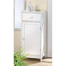 Lakeside White Bathroom Storage Cabinet  - $119.95