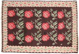 """7' 6"""" x 11' 2""""  Vintage Turkish Kilim Area Rug ... - $832.59"""